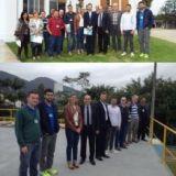 Representantes do CREA-SC visitam o Samae