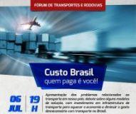 Palestra Custo Brasil - quem paga � voc�: Dia 06/07 no CREA-SC