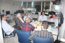 Conselheiros do CREA-ES conhecem a fiscaliza��o do CREA-SC na �rea da Agronomia