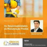 Workshop Síndicos Planning vai percorrer as principais cidades de Santa Catarina