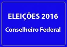 Elei��es 2016 do Confea para Conselheiro Federal