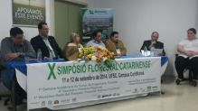 X Simp�sio Florestal Catarinense debate cen�rios e perspectivas do setor