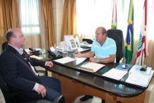 Crea visita presidente da C�mara Municipal de Florian�polis