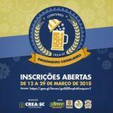 Inscrições abertas para o 2º Concurso Engenheiro Cervejeiro do CREA-SC