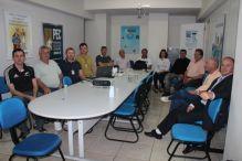 Reuni�o de Inspetores em Curitibanos tem participa��o do presidente em exerc�cio