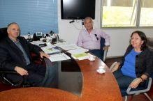 CREA-SC recebe conselheira da Para�ba