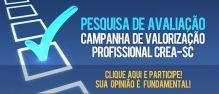 Participe da pesquisa de avalia��o da campanha de valoriza��o profissional