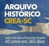 60 anos em 365 dias: Arquivo Histórico do CREA abre exposição virtual