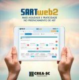 Satisfação de 95% do SartWeb2 revela a interação entre CREA-SC e profissionais