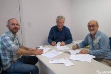 CREA-SC formaliza termos de fomento com AGROCON e AECOM em Concórdia