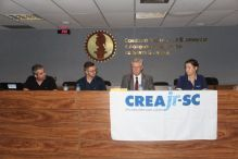 Programa CREAjr-SC empossa novos coordenadores regionais