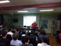 Palestra para alunos do IFSC Xanxerê esclarece sobre atuação e papel do CREA-SC