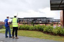 CREA realiza fiscalização nas obras do novo Terminal do Aeroporto da capital