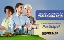 PESQUISA DE SATISFA��O: CAMPANHA DE VALORIZA��O PROFISSIONAL 2015
