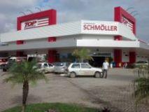Inspetoria de Rio do Sul fiscaliza obras do Supermercado Shmoller em Lontras