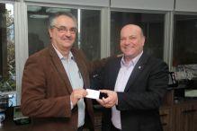 Vice-presidente da FNE recebe nova carteira profissional