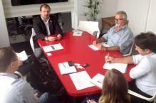 CREA e Komeco debatem cadastro de empresas para instala��o de equipamentos
