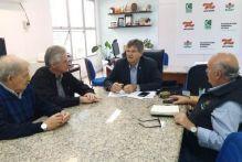 CREA-SC alinha ações com a Secretaria da Agricultura e Pesca e Epagri