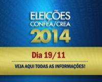 Elei��es Confea/Crea/M�tua acontecem hoje, 19.11. Veja aqui todas as informa��es
