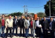 Comiss�o debate andamento das obras da Herc�lio Luiz em reuni�o no Deinfra