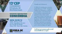 Conc�rdia recebe Encontro Preparat�rio ao 12� CEP ter�a-feira (24.05)