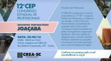 Joa�aba recebe Encontro Preparat�rio ao 12� CEP quarta-feira (25.05)