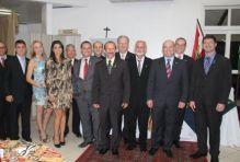 Diretoria da ASCEA tomou posse para Gest�o 2015-2016 em Crici�ma