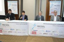 Simpósio Internacional debate mecânica dos sólidos em Joinville