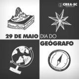 29 de Maio: Dia do Ge�grafo. Parab�ns a todos os Profissionais!!!