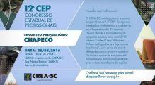 Chapec� recebe Encontro Preparat�rio ao 12� CEP nesta segunda-feira (30.05)
