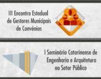 Inscrições abertas para eventos:Gestores de Convênios e Engenharia Setor Público