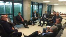 Comitiva do CREA-SC busca apoio em Brasília para viabilizar repasse às entidades