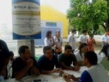 Prefeitura no Bairro leva orienta��o � comunidade da Cachoeira do Bom Jesus