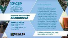 Ararangu� e Crici�ma sediam encontros preparat�rios ao 12� CEP