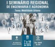 Mobilidade urbana � tema de Semin�rio promovido pela AREAVID, CREA e UNOESC