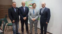 Presidente do CREA-SC participa de posse da FECAM