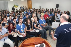 5� Encontro Estadual do CREAjr-SC reuniu lideran�as estudantis na capital