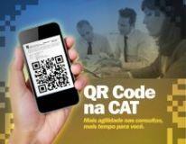 CAT agora pode ser acessada via QRCode